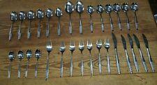 CUTLERY MID CENTURY PRESTIGE DUTCH RETRO  30 pieces