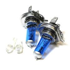 FIAT PANDA 169 100 W Super White Xenon HID ALTO/BASSO/Led Lato dei fari lampadine Set