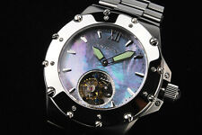 ANDROID AD636 Flying TOURBILLON 27 Jewel Sea Gull TY802 Sapphire-MOP!!!