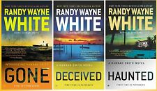 Hannah Smith Series Collection Set Books 1-3 Paperback By Randy Wayne White New!
