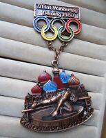 wanderorden 6. int. wandertag deining 1980 olympiade moskau