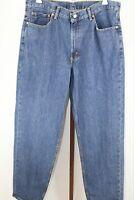 Levi's Mens Blue Classic Straight Leg Jeans Pants W36