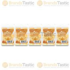 5 X GLADE HOMEMADE BISCUIT DELIGHT WAX MELTS CANDLE BURNER REFILL FRAGRANCE 66G