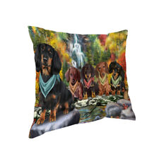Scenic Waterfall Pillow, Dogs, Cats, Pet Photo Lovers Pillow Gifts, Dog Pillow