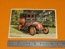 CHROMO CHOCOLAT POULAIN 1976 AUTO VOITURE RENAULT TAXI DE LA MARNE 1912