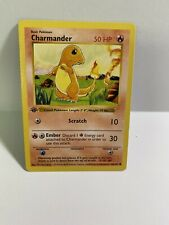 Pokémon 1st Edition Charmander Shadowless 1999