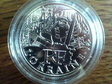 france 10 euros argent 2012 lorraine