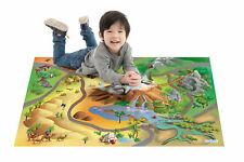 """Kinder Spielteppich """"Wildnis"""" 100 x 150 cm Spielmatte Teppich Tiere Tier NEU OVP"""