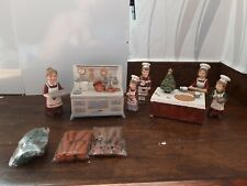 Weihnachts Backstube Figuren 8-teilig