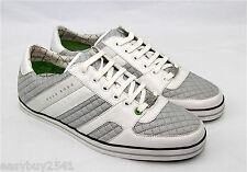HUGO BOSS GREEN LABEL SOMERSET PADDING LC LEATHER SHOES SNEAKERS NEW SZ 10 43 EU