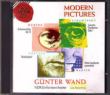 Günter muro: Modern Pictures Stravinsky Islands Oaks Fortner Martin scoprì CD