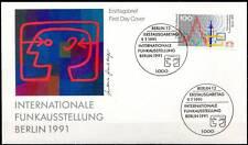 BRD 1991: IFA Berlin! FDC der Nr. 1553 mit Berliner Ersttags-Sonderstempeln! 1A