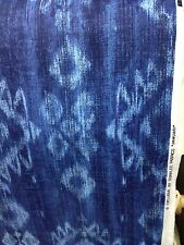 Duralee jamuari print cotton ikat ethnic fabric by the yard south western fabric