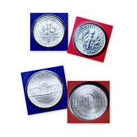 2012 P+D Jefferson Nickel & Roosevelt Dime Sets ~ PD in Original Mint Wrappers