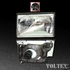 1987-1993 Ford Mustang Headlight Lamp Clear lens Halogen Driver Left Side