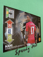 Champions League Nani  2012 2013  limited edition  Panini Adrenalyn 12