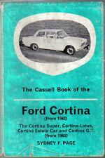 Ford Cortina from 1962 Handbook inc. Super, Lotus Cortina, Estate & GT Cassell
