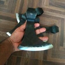Hand forged viking axe Head high carbon steel beard axe head