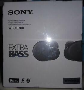 Sony extra Bass Wireless earbuds WF-XB700 Bluetooth