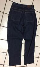 L L BEAN NEW Classic Dark Denim Relaxed Blue Jeans_womens  Sz 10 REG OMW15