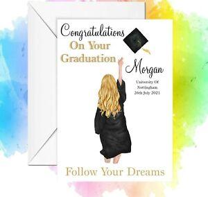 Personalised graduation card customize graduation card