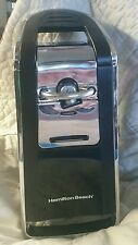 Hamilton Beach 76606Z Smooth Touch Can Opener Black/Chrome Guc