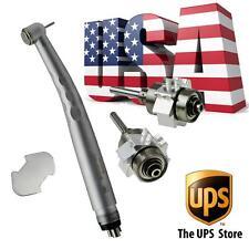 US! Dental Fast High Speed Handpiece push w turbina cartuccia 3 water way 4 hole