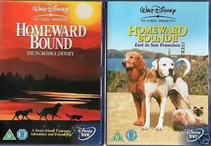 Homeward Bound 1+2 (Michael J Fox) New DVD Region 4