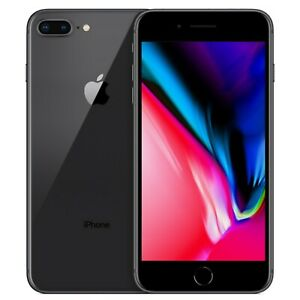 New Apple iPhone 8 Plus 128GB A1897 Space Grey Factory Unlocked 4G/LTE GSM
