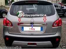 cover maniglione centrale baule Ikey acciaio cromo per Nissan Qashqai 07-13
