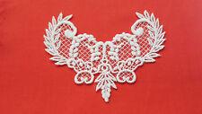 White Guipure Lace Motif ,Applique,Wedding,Trimmings  14cm x 10cm