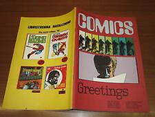 FANZINE DI FUMETTI COMICS SUPPLEMENTO AL NUMERO 53 OTTOBRE 1978 GREETINGS
