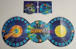 Scene It? Deluxe Edition (2005) - Board & DVDs ONLY- Replacement Parts/Pieces