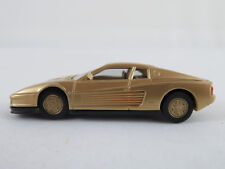 Herpa Ferrari Testarossa (1986) in goldmetallic 1:87/H0 NEU/unbespielt