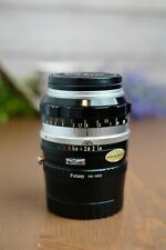 Nikon Nikkor 50 mm 1:1.4 Auto Lens Manual Focus Lens w/Caps &NEX E-Mount Adapter