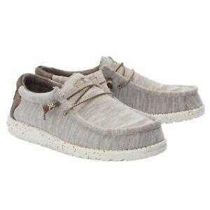 Hey Dude Men's Wally Stretch Limestone Shoes 110381721