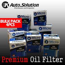 Premium Oil Filter Z663 DODGE AVENGER CALIBER JOURNEY CHRYSLER SEBRING 4 PCS