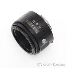 Minolta AF 50mm F1.7 Maxxum Autofocus Lens (612s-13)