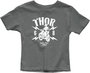 Thor 2020 Youth Boys' Lightning T-Shirts Charcoal All Sizes