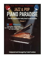 50%OFF* PIANO PARADISE JAZZ & POP VOL.1 SONG BOOK NEW