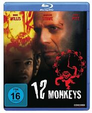 12 Monkeys [Blu-ray](NEU/OVP)  Bruce Willis, Brad Pitt von Terry Gilliam