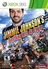 Jimmie Johnsons Anything With an Engine XBOX 360 NEW! NASCAR, KART RACE PARTY