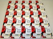 Kingston DTIG3/8GBZ 8GB DataTraveler USB 2.0 Flash Memory New Sealed Lot of 25