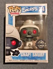 FUNKO POP ANIMATION THE SMURFS GNAP! SMURF 274 EXCLUSIVE