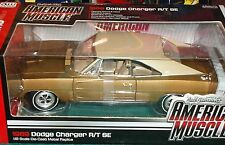 ERTL/AUTO WORLD 1969 DODGE CHARGER R/T 1/18 BRONZE/TAN
