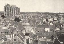 OISE. Beauvais. Générale 1895 old antique vintage print picture