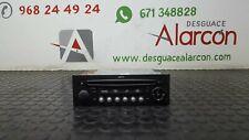 294456 SISTEMA AUDIO / RADIO CD PARA CITROEN C4 GRAND PICASSO | 96646223XT