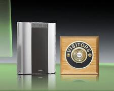 Libra+ Pro 200m Kabellose Türklingel Set Messing Visitors/Honig Oak, Modell