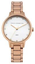 French Connection FC1281RGM Oro Rosa Acero Inoxidable Correa Mujer Reloj de