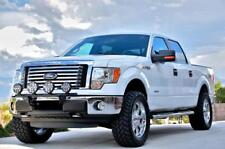 N-FAB Light Bar Light Tabs Gloss Black For 09-14 Ford F150/Lobo/Raptor F094LB